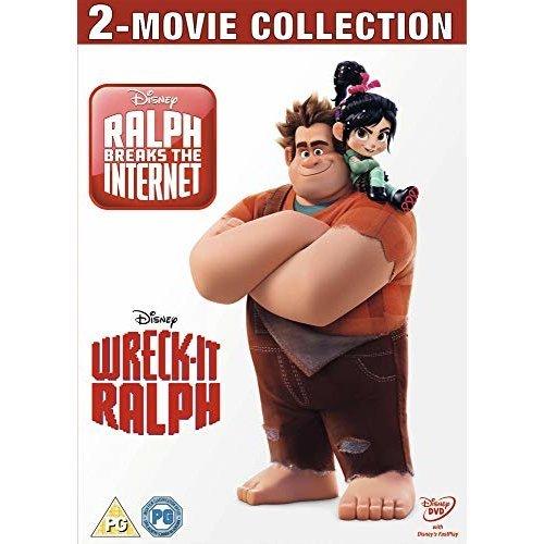 Wreck It Ralph / Wreck It Ralph Ralph Breaks The Internet DVD [2019]