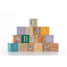 Rainbow Designs Peter Rabbit Wooden ABC Picture Blocks