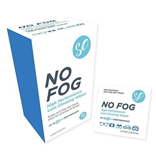 Anti Fog Wipes - 30 Wipes