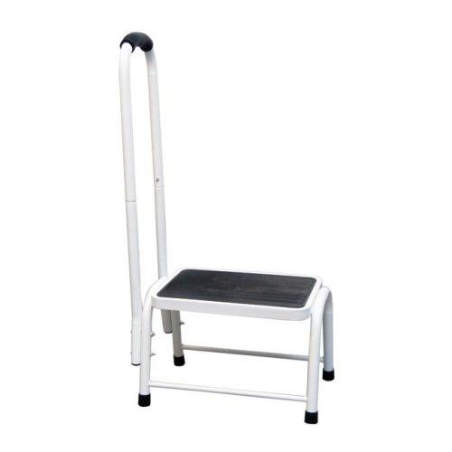 Safety Step Stool   Platform size: L26xW38xH28cm Handrail H: 89cm   Easylife