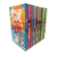 Roald Dahl Collection 16 Books Set, BFG, Matilda, The Witches, The Twits