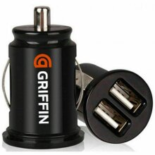 Griffin Power Car Charger Dual USB 12V Lighter Socket Adapter Plug