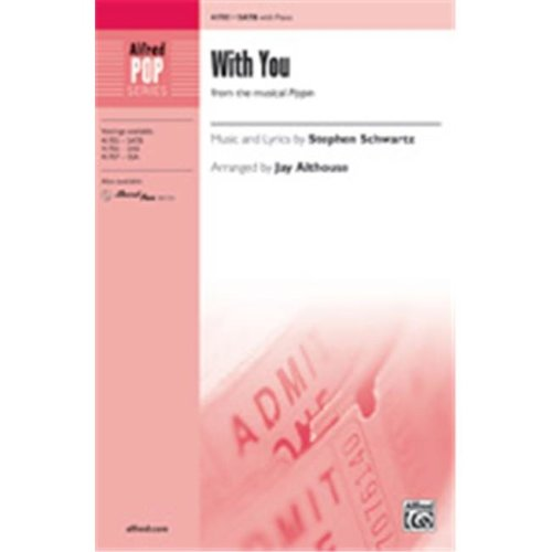 Alfred 00-41708 WITH YOU-STRX CD