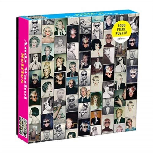 Andy Warhol Selfies 1000 Piece Puzzle by Created by Galison