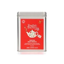 English Tea Shop Organic Spiced Red Fruits - 100g Loose leaf tea in a Tin