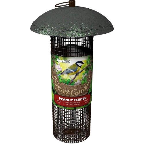 Peckish Secret Garden Peanut Bird Feeder