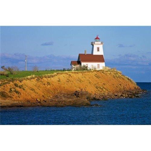 Lighthouse On Prince Edward Island Canada Poster Print by Bilderbuch, 18 x 11
