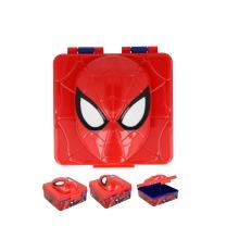 Latest Design Kids 3D Spiderman School Lunch Sandwich Snack Box