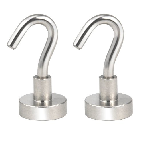 Trixes 2pc Super Strong Magnetic Hooks   Magnetic Hook Twin Pack