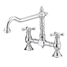 Bristan Kitchen Tap Sink Mixer Colonial Bridge Surface Mounted 180x235x225 mm