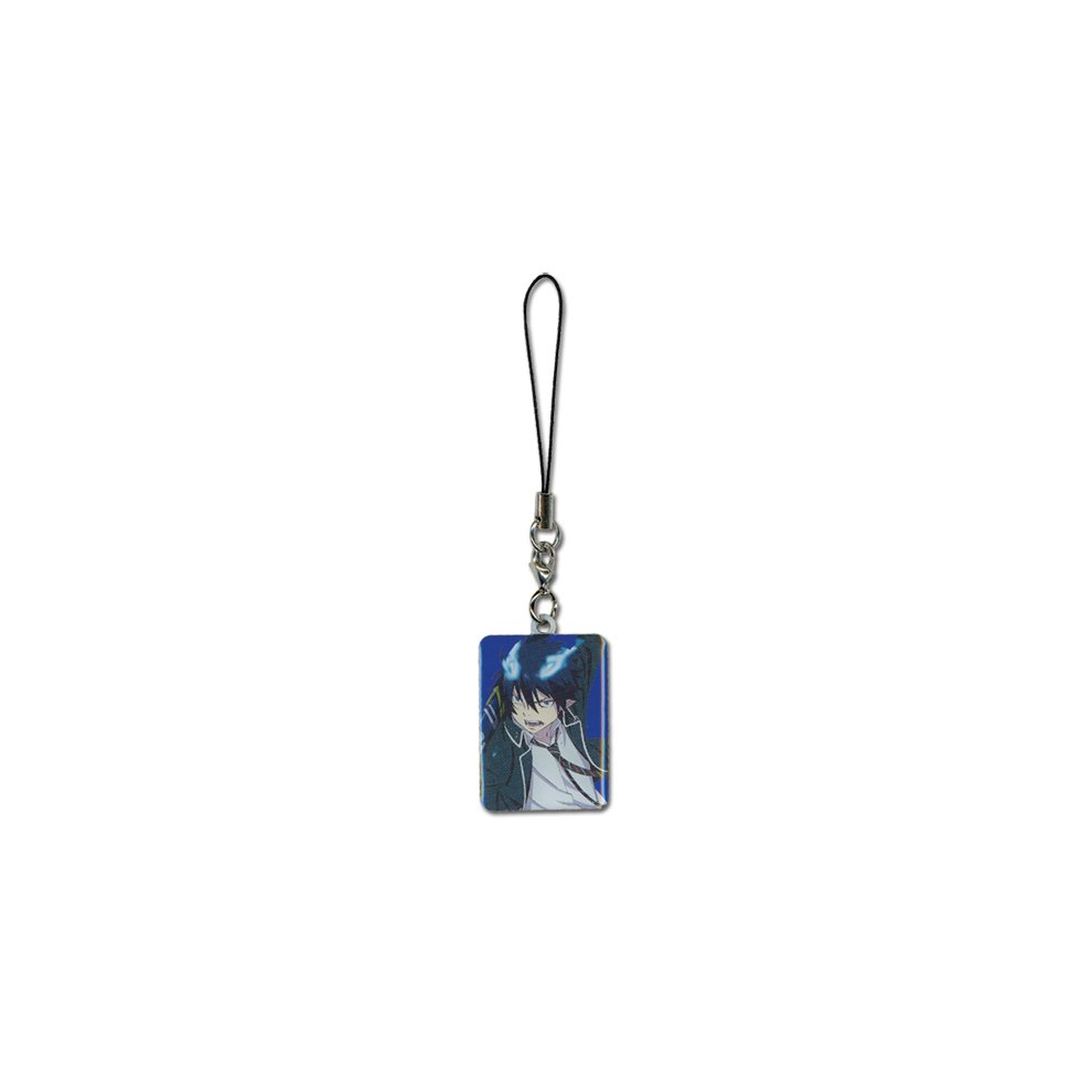 New Rin Accessories Anime Licensed ge8739 Cell Phone Charm Blue Exorcist