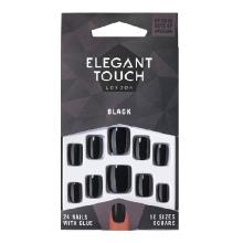 Elegant Touch Polished Black