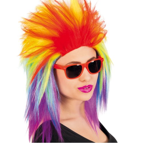 Wig Punk Mullet Asi Style Size