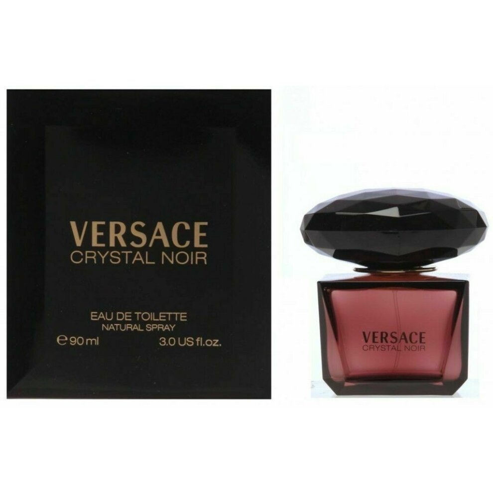 Versace Crystal Noir Gift Set 90ml EDT
