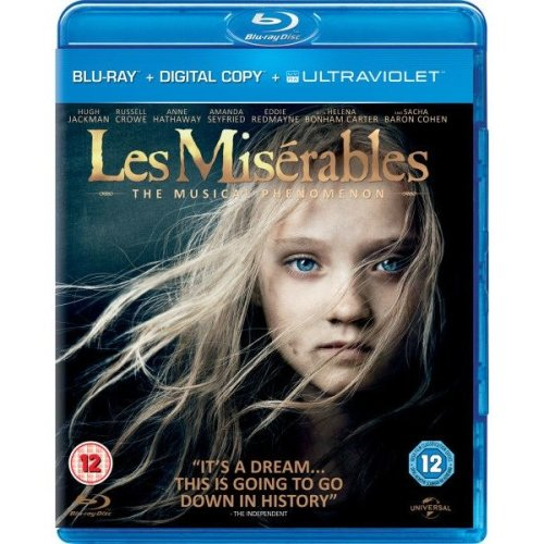 Les Miserables Blu-Ray [2013]