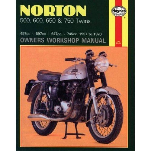 Norton 500, 600, 650 & 750 Twins 1957 - 1970 (Motorcycle Manuals)