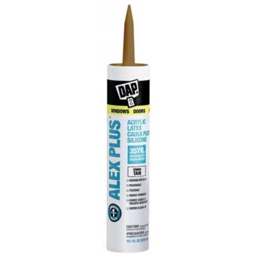 Dap Cedar Tan Acrylic Latex Caulk With Silicone 18122