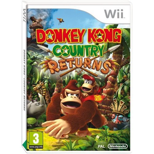 Donkey Kong Country Returns (Nintendo Wii) - Used