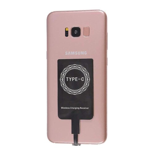 Samsung Galaxy A51 Type-C Universal Wireless Qi Charging Receiver Card Coil Patch 800mA