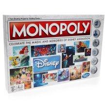 Hasbro HSBC2116 Walt Disney Animation Monopoly Game | Disney Monopoly