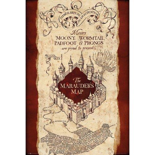 Harry Potter Marauders Map Maxi Poster