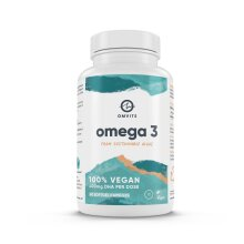 Vegan Omega 3 DHA - 60 Algae Oil Capsules