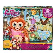 FurReal Piper My Baby Monkey Interactive Animatronic Plush Toy 4+Years