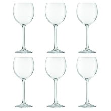 LSA International Uno Wine Glass 400ml Clear x6