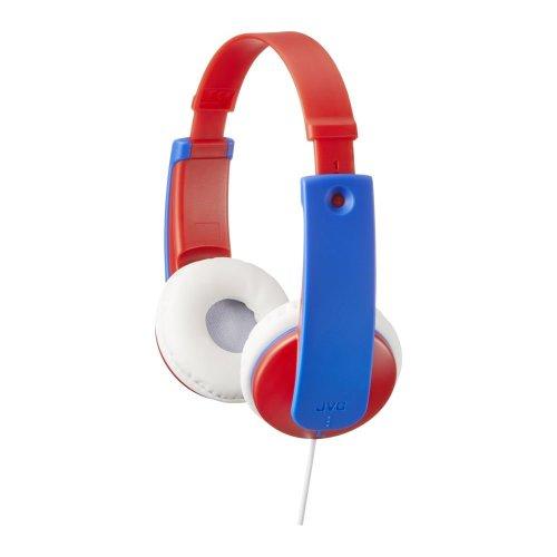 JVC Tinyphones Kids Headphones - Blue & Red, Blue