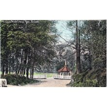 Lancing Manor House Park Sussex Antique Postcard - Used