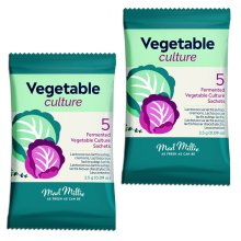2x Mad Millie Vegetable Culture 5x sachets ideal for Sauerkraut and Kimchi