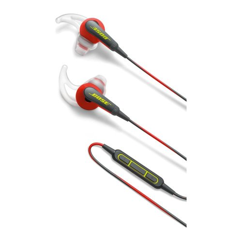 BOSE SoundSport Headphones - Power Red, Red