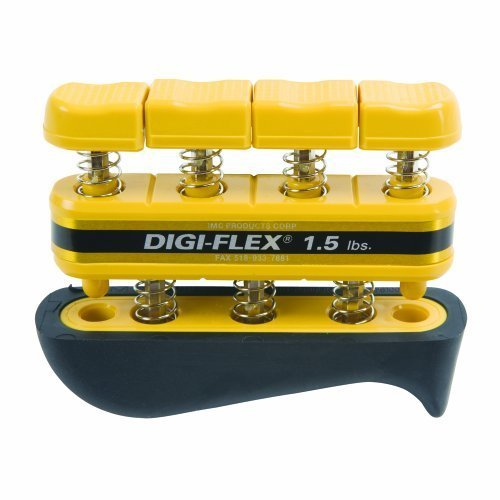 Digi Flex Yellow Hand and Finger Exercise System 1 5 lbs Resistance