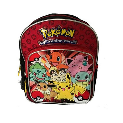 Mini Backpack - Pokemon - Gatta Catch Them All New 858275