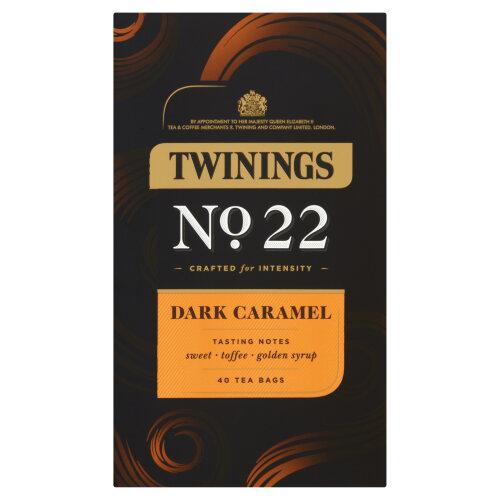 Twinings -  Dark Caramel No22 - 40 Tea Bags