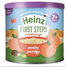 Heinz First Steps Breakfast Peachy Porridge (7+), 240 g