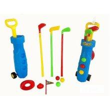 Childrens Golf Set Plastic Golf Clubs Balls Caddy Kids Toy Summer Garden Fun 872