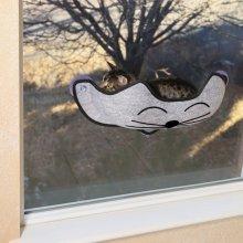 Cat Window Bed Hammock Catnap Padded