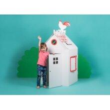 Big Cardboard Colour-In Playhouse