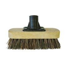 Faithfull FAIBRDECKSCR Deck Scrub Broom Head 175mm (7in) Threaded Socket