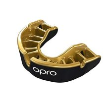 OPRO Gold Level Self-Fit Adult Mouthguard (GEN4) - Black/Gold