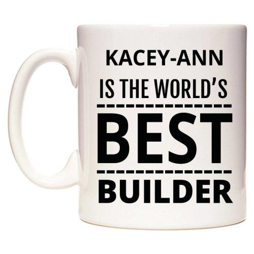 KACEY-ANN Is The World's BEST Builder Mug