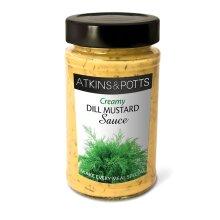 Atkins & Potts Dill Mustard Sauce (200g)