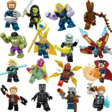 Minifigure Marvel Avengers Lego Accessories Figures Compatible With Lego Children Gifts Kids Toys Blocks Toy