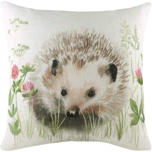 Evans Lichfield Hedgerow Hedgehog Cushion Cover
