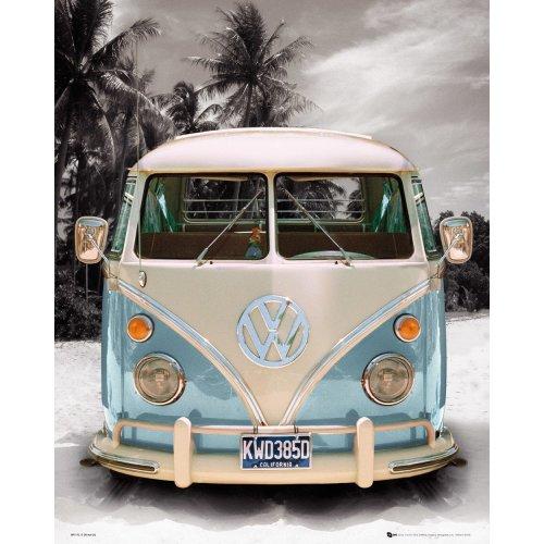 Vw Californian Camper Mini Poster