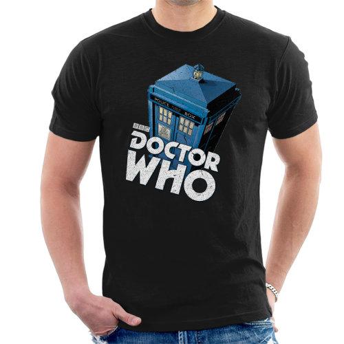 Doctor Who Classic Tardis Men's T-Shirt