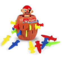 Lucky Stab Pop Up Toy Gadget Pirate Barrel Game Toy