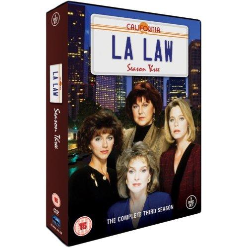 LA Law Season 3 DVD [2012]