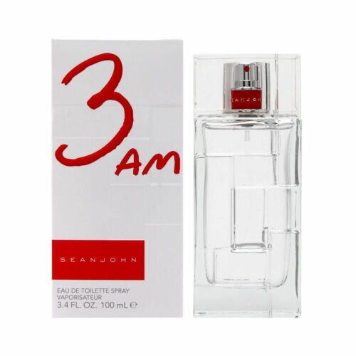 3 AM EDT Sean John Cologne 3.4 oz Spray Mens